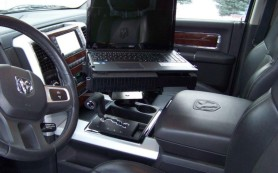 ford econoline van laptop desk