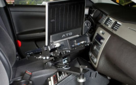chevy impala police vehicle laptop desk